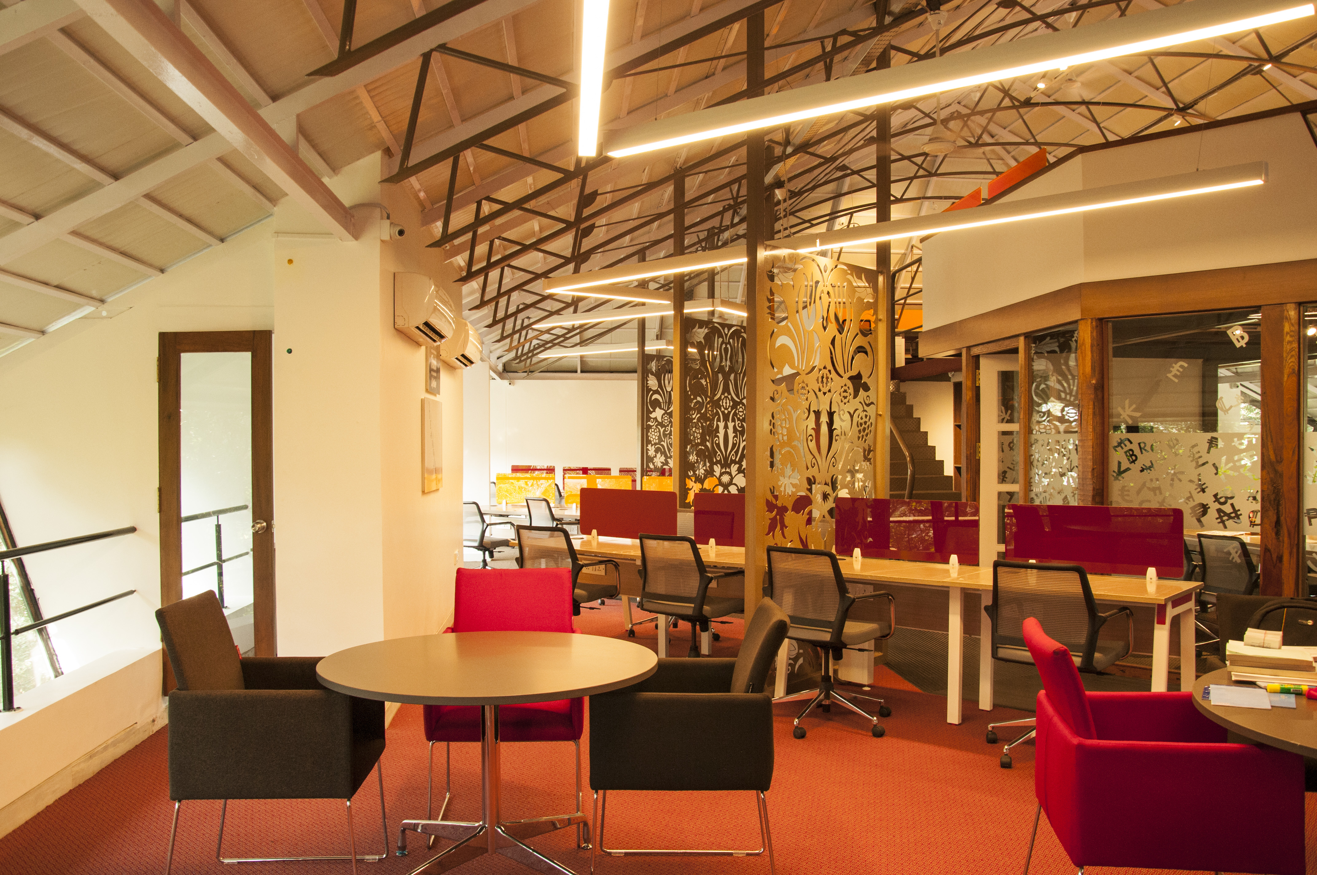 Coworking space at Evoma, whitefield
