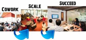 Scale fast at Evoma coworking space