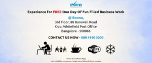 CoWorking Promotion at Evoma