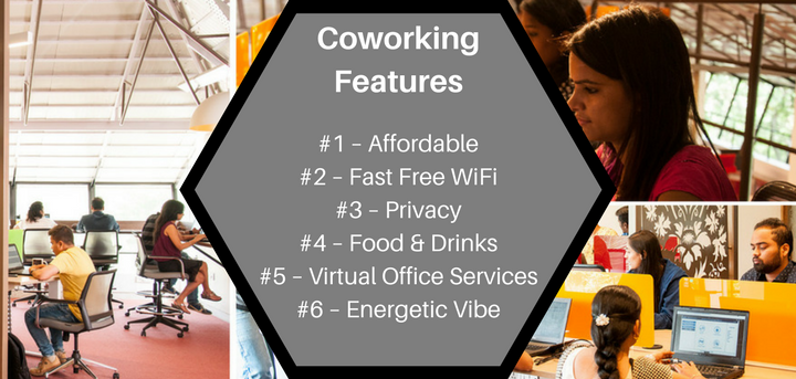 coworking features - privacy