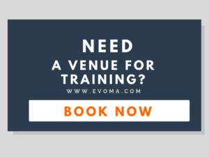 Evoma training venue in Bangalore. Book now.
