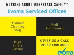Safe workplace Evoma in Bangalore