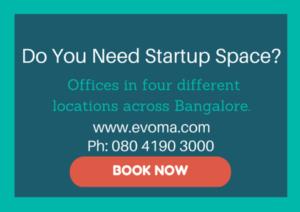 Evoma startup space Bangalore