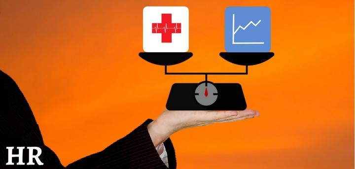 employee health vs productivity