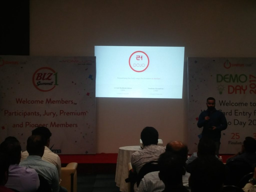 21Dojo at Evoma Biz Summit in Bangalore