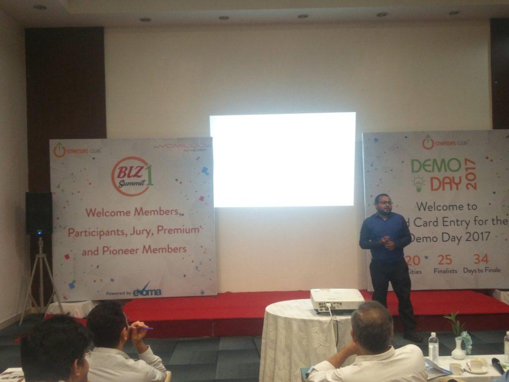 Hubbler at Evoma Biz Summit in Bangalore