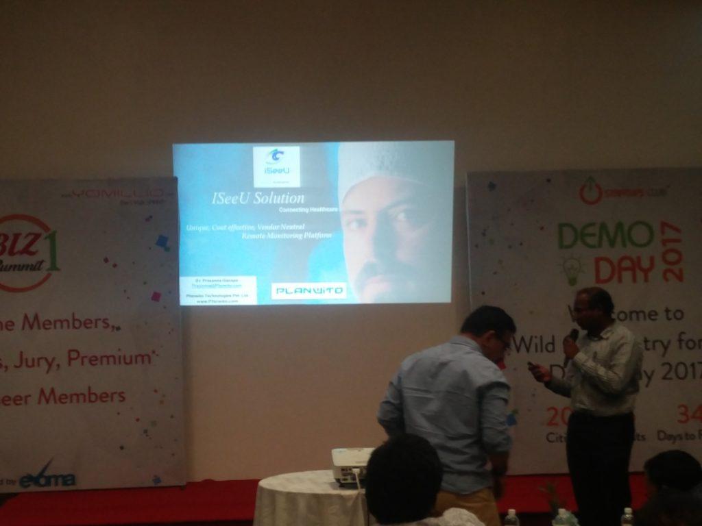 iSeeU at Evoma Biz Summit in Bangalore
