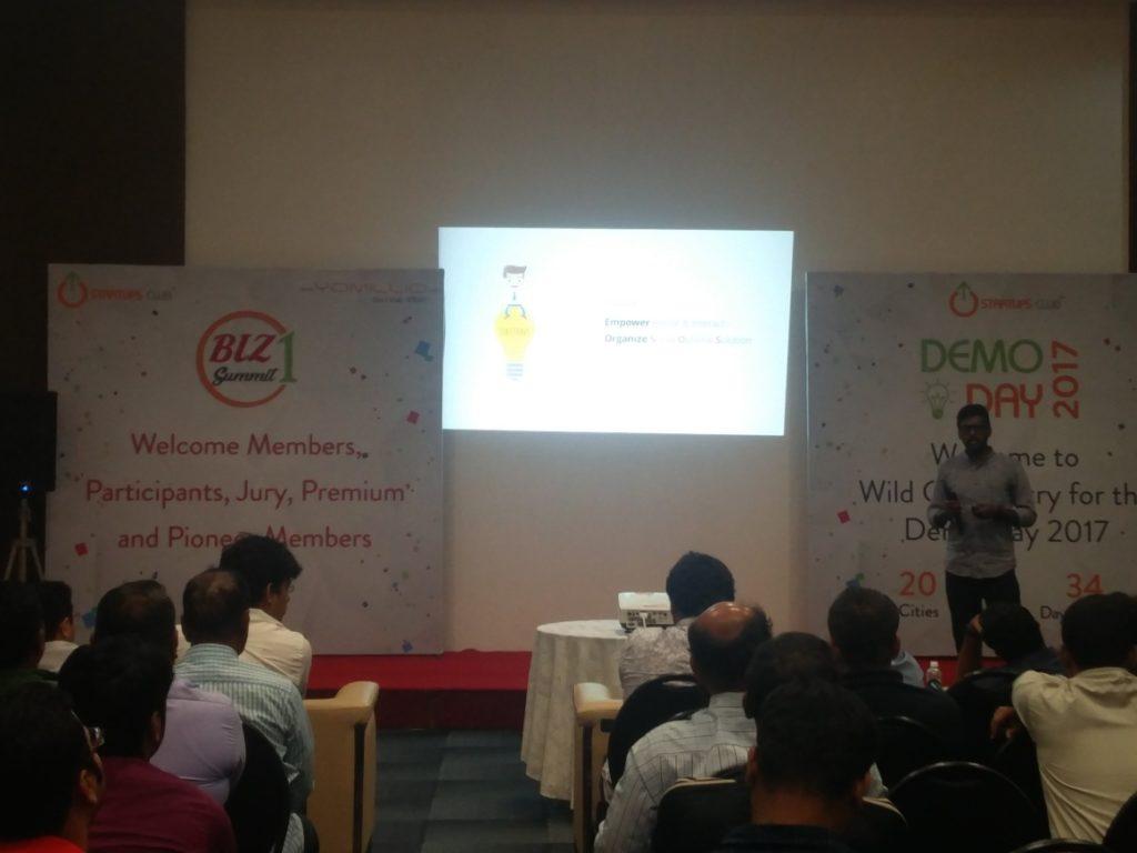 Loopixer at Evoma Biz Summit in Bangalore