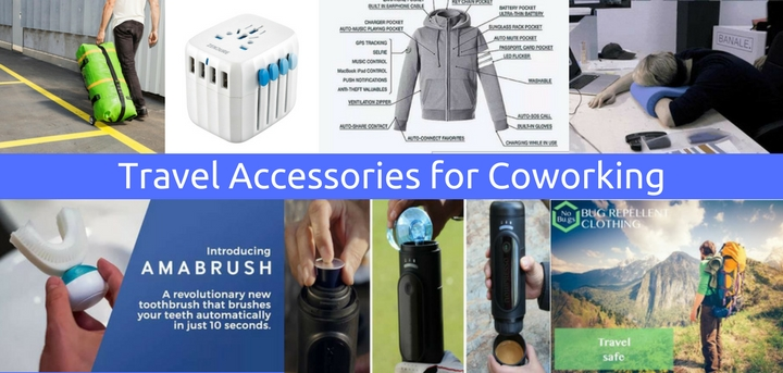 travel accessories for coworking