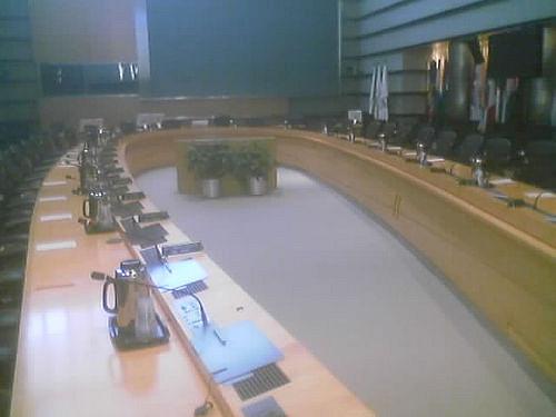 world bank horseshoe boardroom