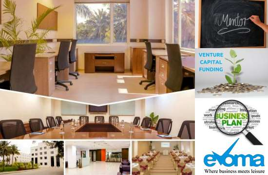 evoma startup office space in bangalore, with mentorship