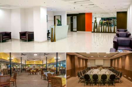 waiting space for interview candidates evoma bangalore