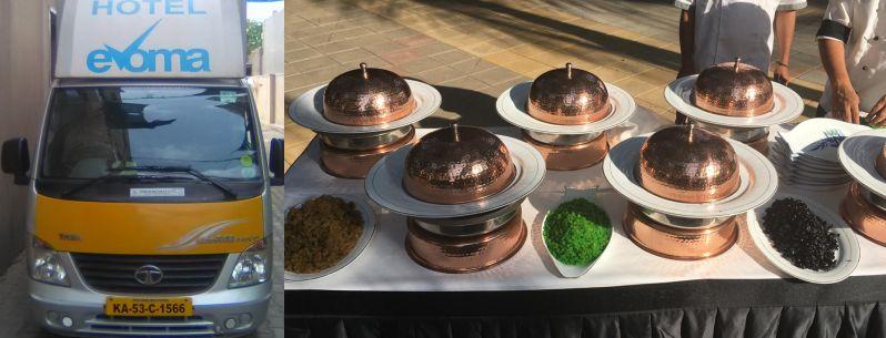 evoma bangalore corporate outdoor catering