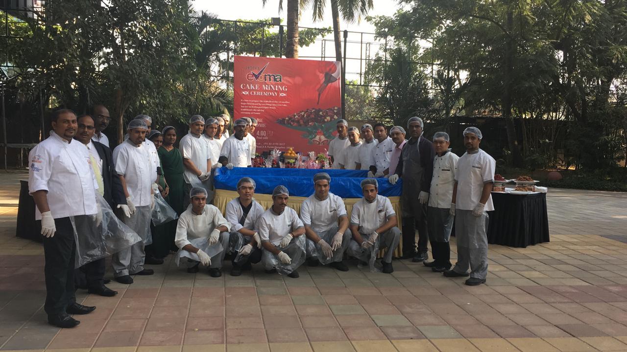 evoma hotel bangalore kitchen crew