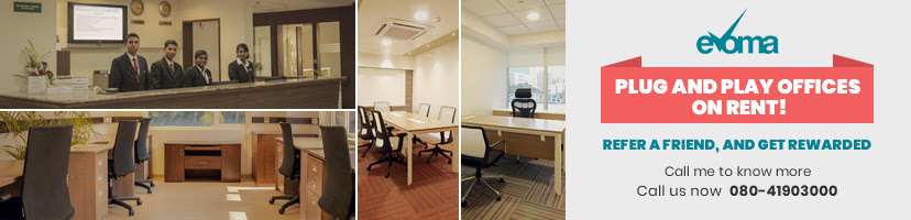 plug and play offices evoma bangalore
